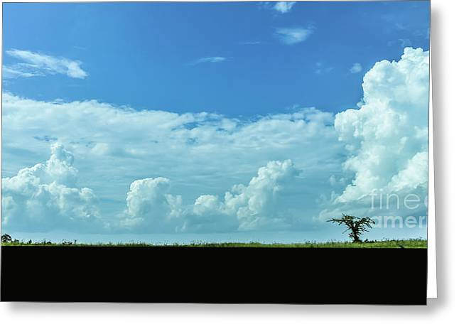 Greeting Card featuring the photograph Countryside by Andrea Anderegg