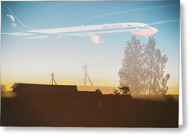 Countryside Boeing Greeting Card