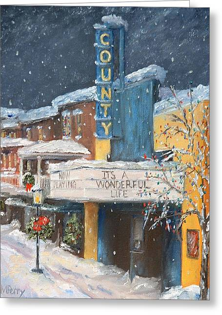 County Christmas Greeting Card
