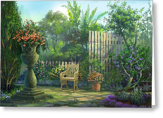 County Contrasts Greeting Card by Michael Humphries