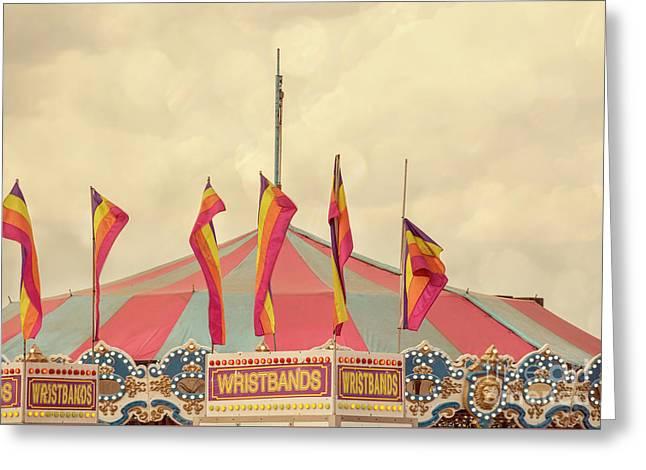 County Fair Greeting Card by Juli Scalzi