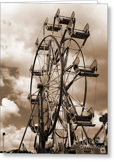 County Fair Greeting Card by Kathy Jennings