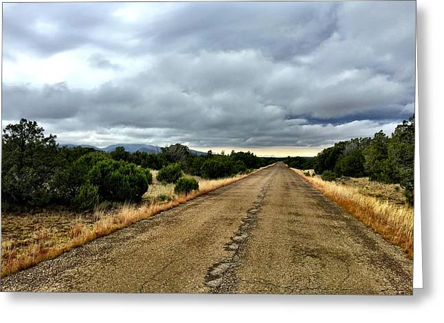 County Road Greeting Card