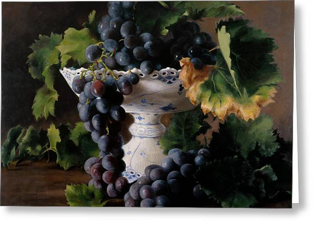 Coupe De Raisin Greeting Card by Kira Weber