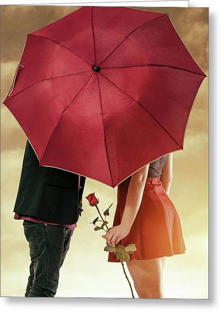 Greeting Card featuring the photograph Couple Of Sweethearts by Carlos Caetano