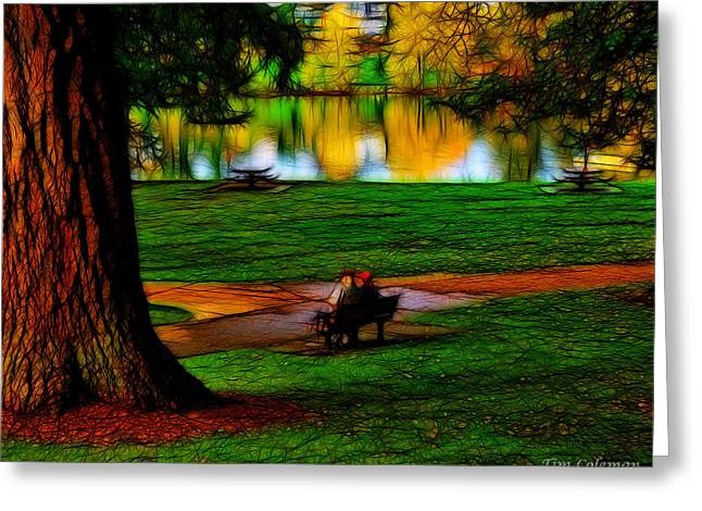 Couple's Therapy Greeting Card by Tim Coleman