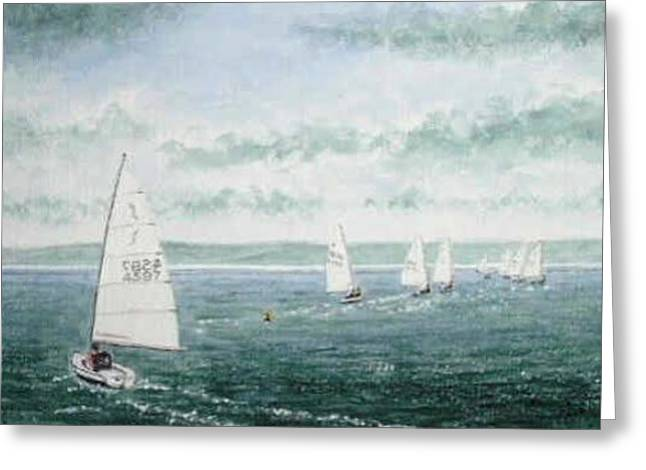 Course To Steer - Storm Approaching Greeting Card