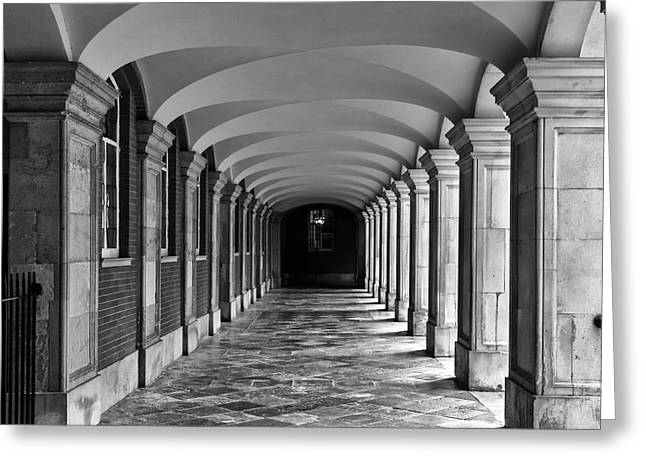 Court Cloister Greeting Card