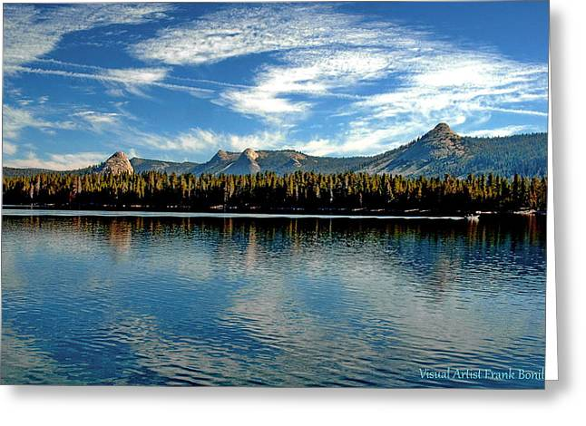 Courtright Reservoir Greeting Card