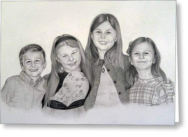 Cousins  Greeting Card by Lori Ippolito