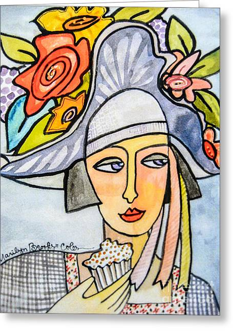 Couture Chapeau Greeting Card