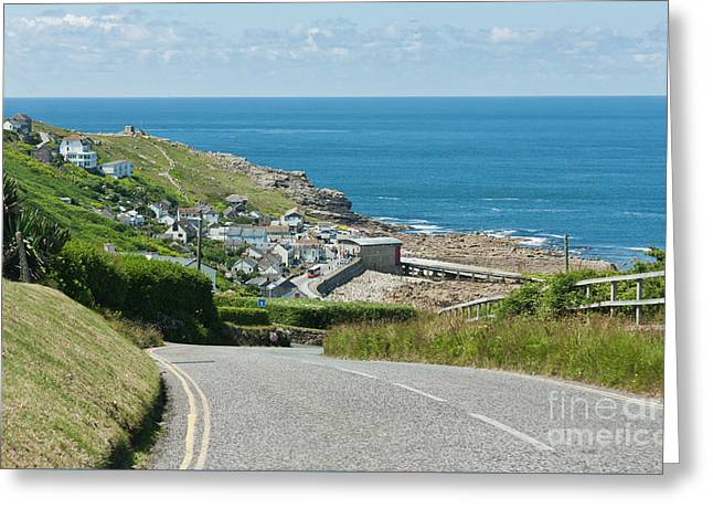 Cove Hill Sennen Cove Greeting Card