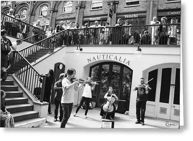 Covent Garden Music Greeting Card