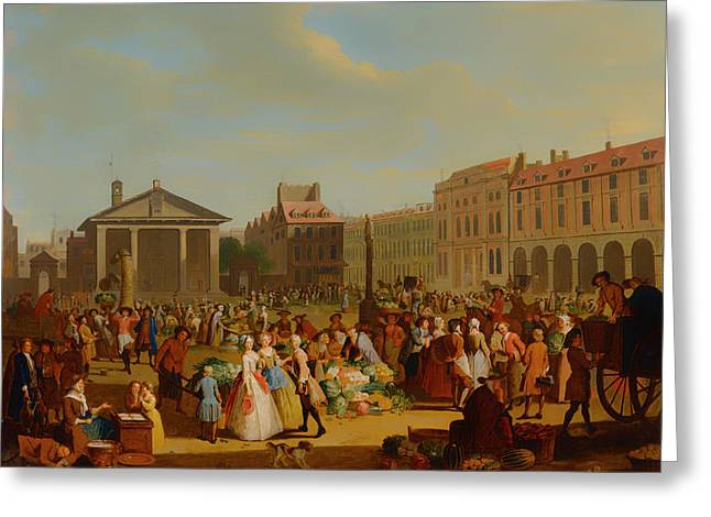Covent Garden Greeting Card by Mountain Dreams