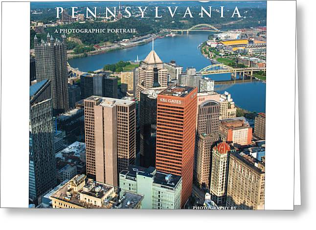 Cover Of Pittsburgh Pennsylvania A Photographic Portrait Greeting Card