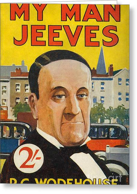 Cover Of The American Edition Of P. G. Wodehouse's My Man Jeeves Greeting Card