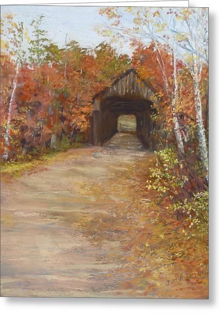Covered Bridge  Southern Nh Greeting Card