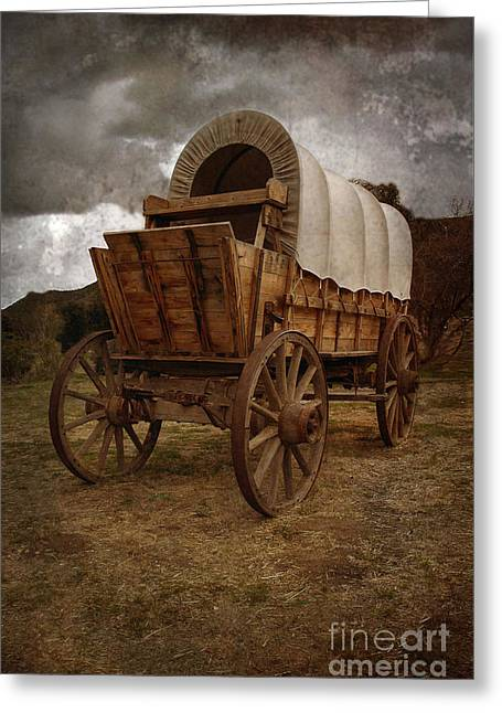 Covered Wagon 1 Greeting Card
