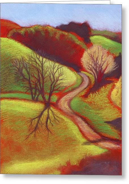 Cow Pasture Wildcat Canyon Greeting Card