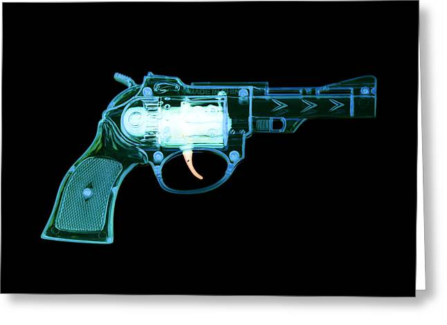 Cowboy Gun 001 Greeting Card