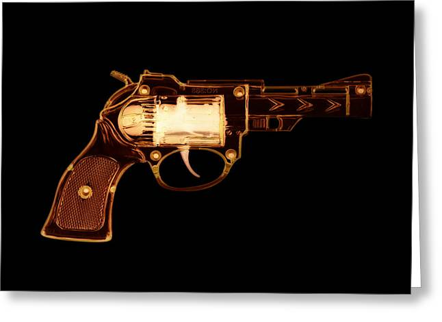Cowboy Gun 002 Greeting Card