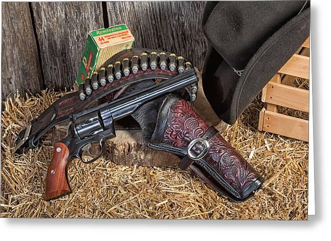 Cowboy Gunbelt Greeting Card