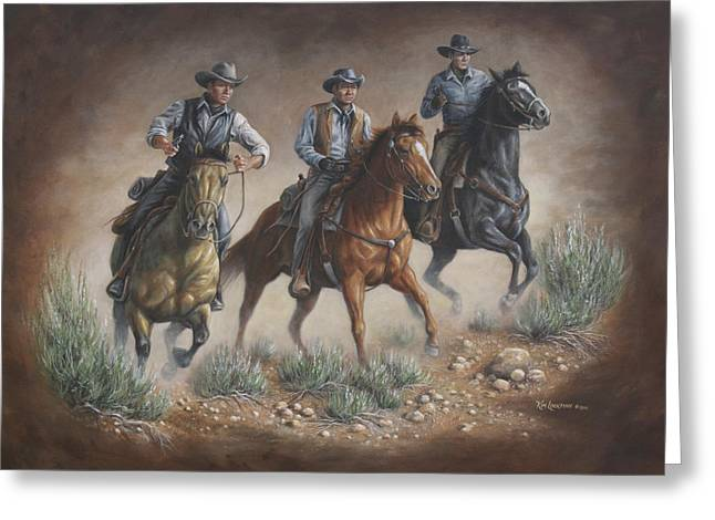Cowboys Greeting Card