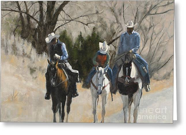 Cowboys Greeting Card