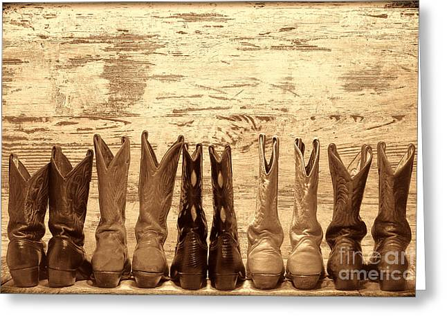 Cowgirls Night Out Greeting Card