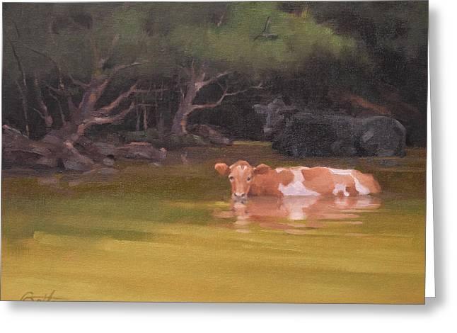 Cows Just Wanna Have Fun Greeting Card