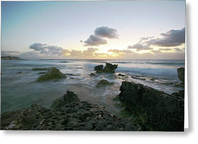 Cozumel Sunrise Greeting Card by Robert Och
