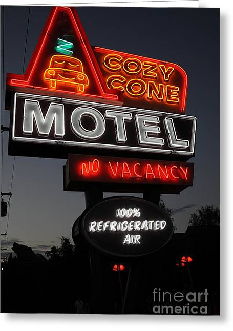Cozy Cone Motel - Radiator Springs Cars Land - Disney California Adventure - 5d17746 Greeting Card by Wingsdomain Art and Photography