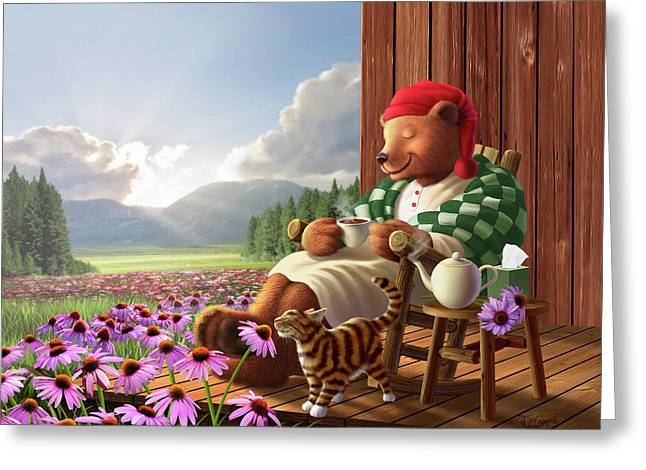 Cozy Porch Greeting Card