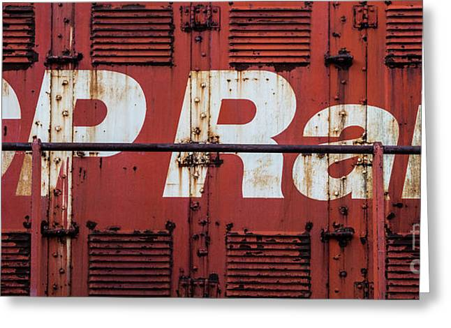 Cp Rail Greeting Card
