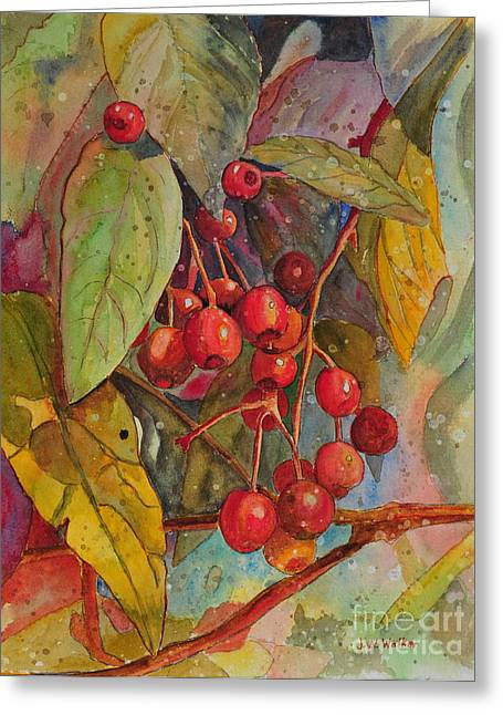 Crab Apples I Greeting Card
