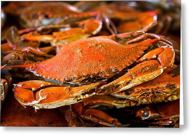 Crab Boil Greeting Card