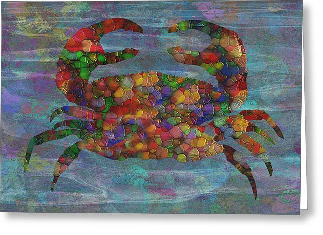 Crabby 2 Greeting Card by Jack Zulli
