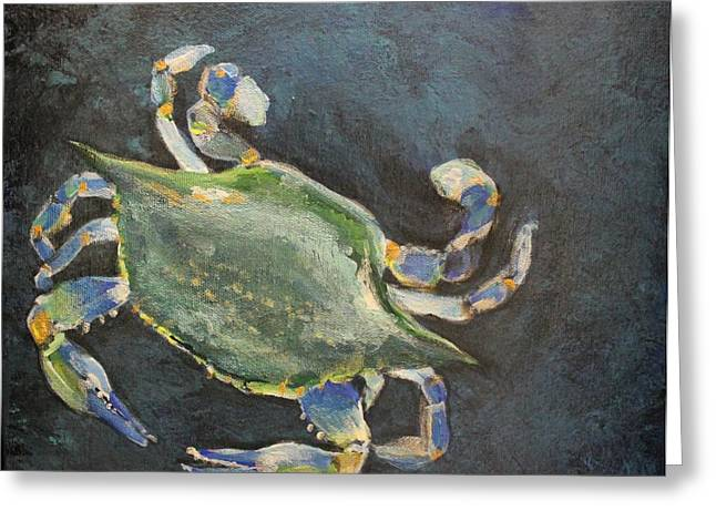 Crabby I Greeting Card