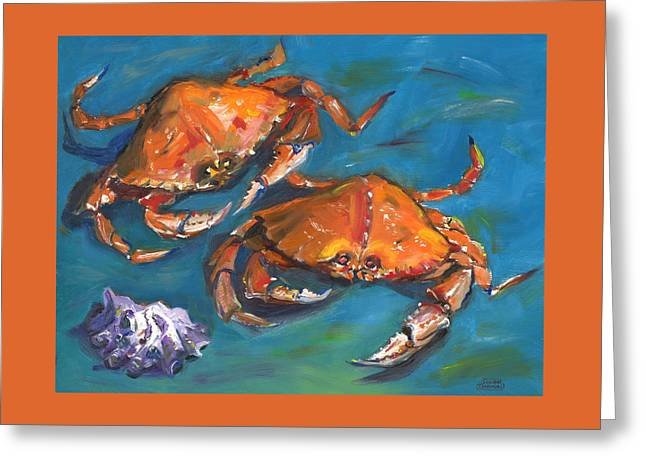 Crabs Greeting Card