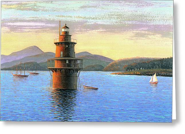 Crabtree Ledge Light Greeting Card