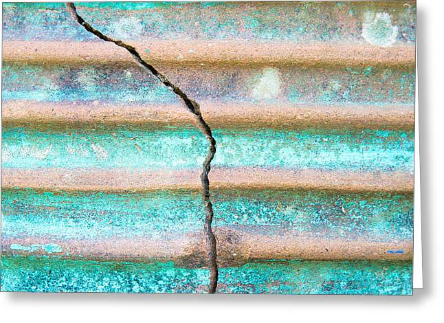 Cracked Clay Pot Greeting Card by Tom Gowanlock
