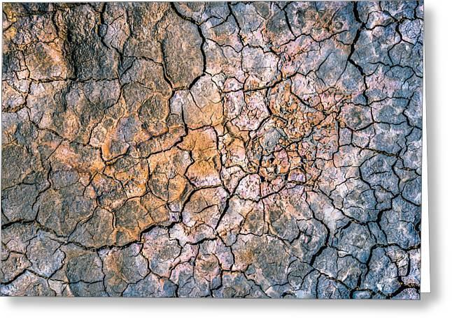 Cracked Mud II Greeting Card