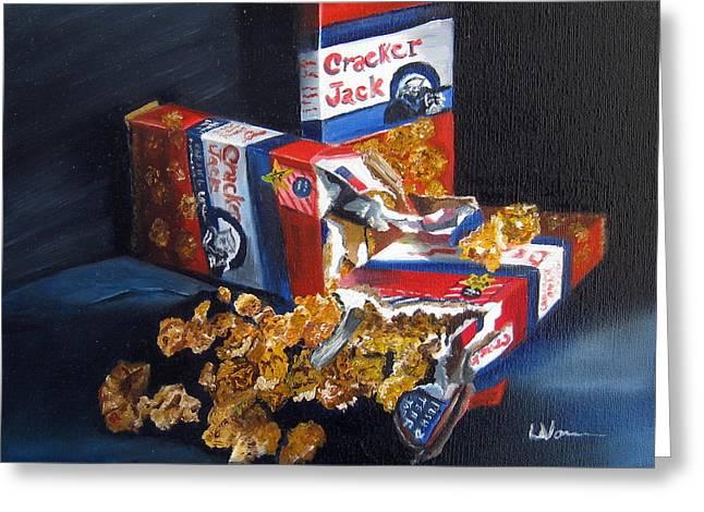 Cracker Jacks Greeting Card