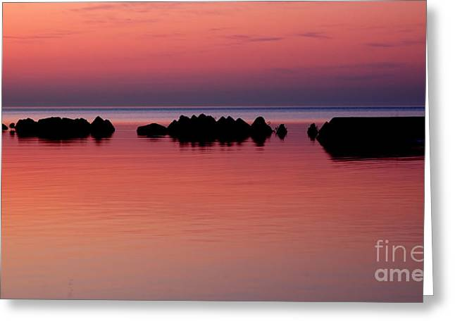 Cracking Dawn Greeting Card by Joe  Ng