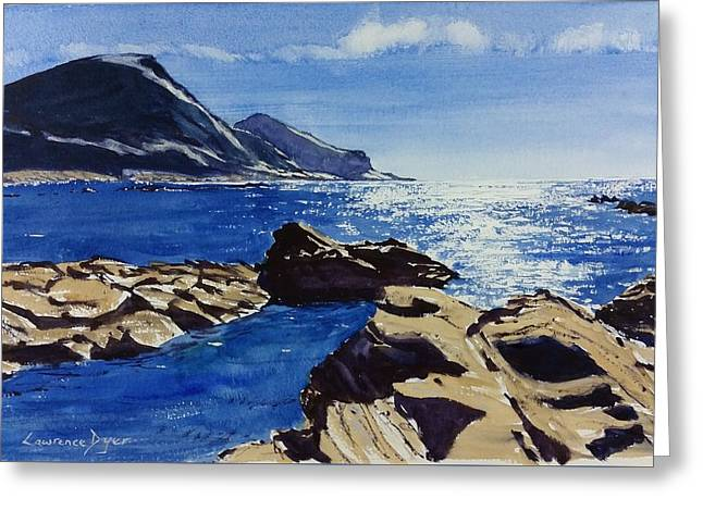 Crackington Haven Sparkle Greeting Card