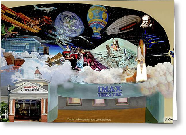 Cradle Of Aviation Museum Greeting Card