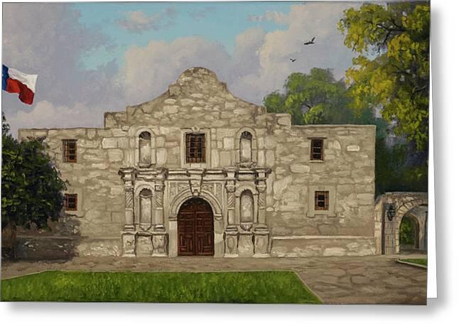 Cradle Of Texas Liberty Greeting Card