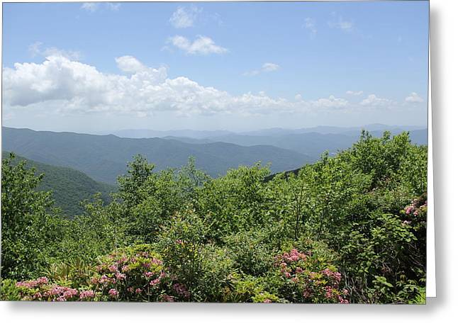 Craggy View Greeting Card