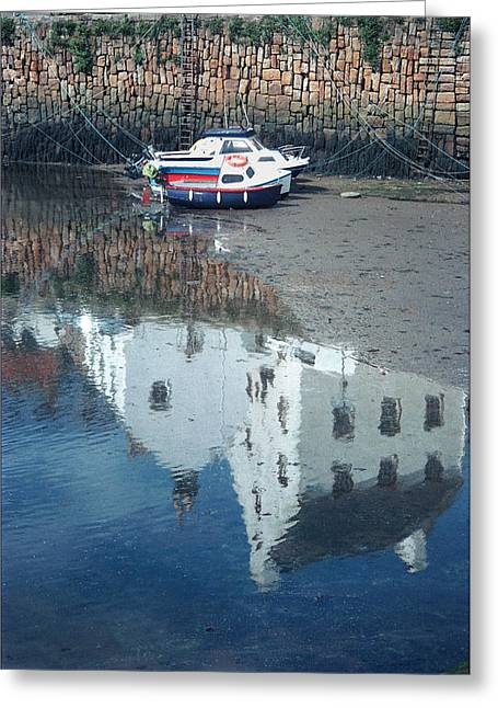 Crail Reflection I Greeting Card