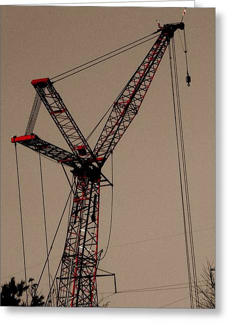 Crane's Up Greeting Card